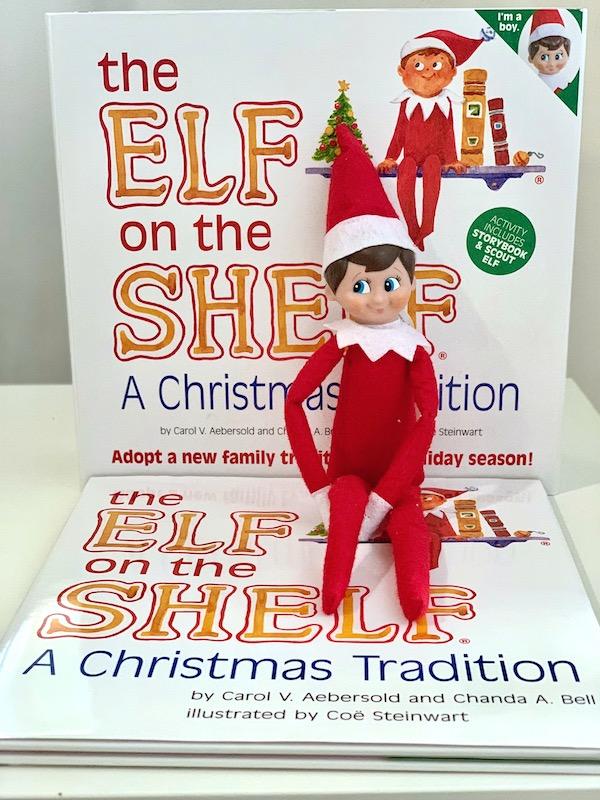 The Elf on the Shelf es una tradición de Navidad que la disfruta toda la familia.